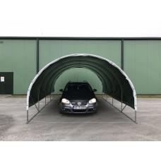 Carport 3x4,5m, 250 micron poly film