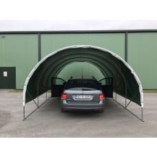 Carport 3x6m, 250 micron poly film