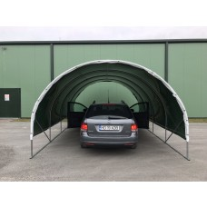 Copertină auto hobbit 3x6m, folie 250 microni