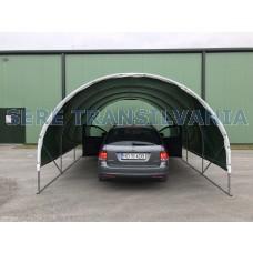 Carport 3x6m sátorgarázs - fóliafedéssel