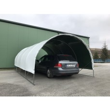 Carport 4x4,5m sátorgarázs - fóliafedéssel