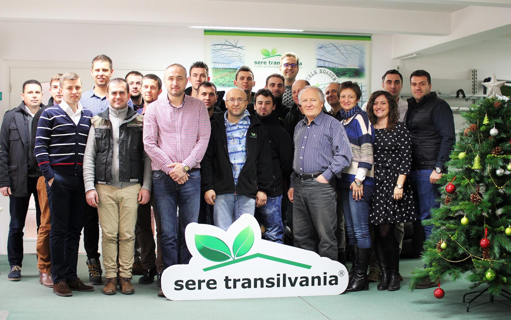 Sere Transilvania team Christmas 2016